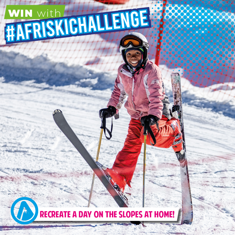 #AfriskiChallenge: Recreate a day on the slopes at home!